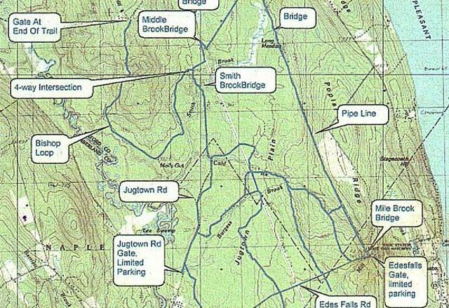 trailmap - Jugtown area