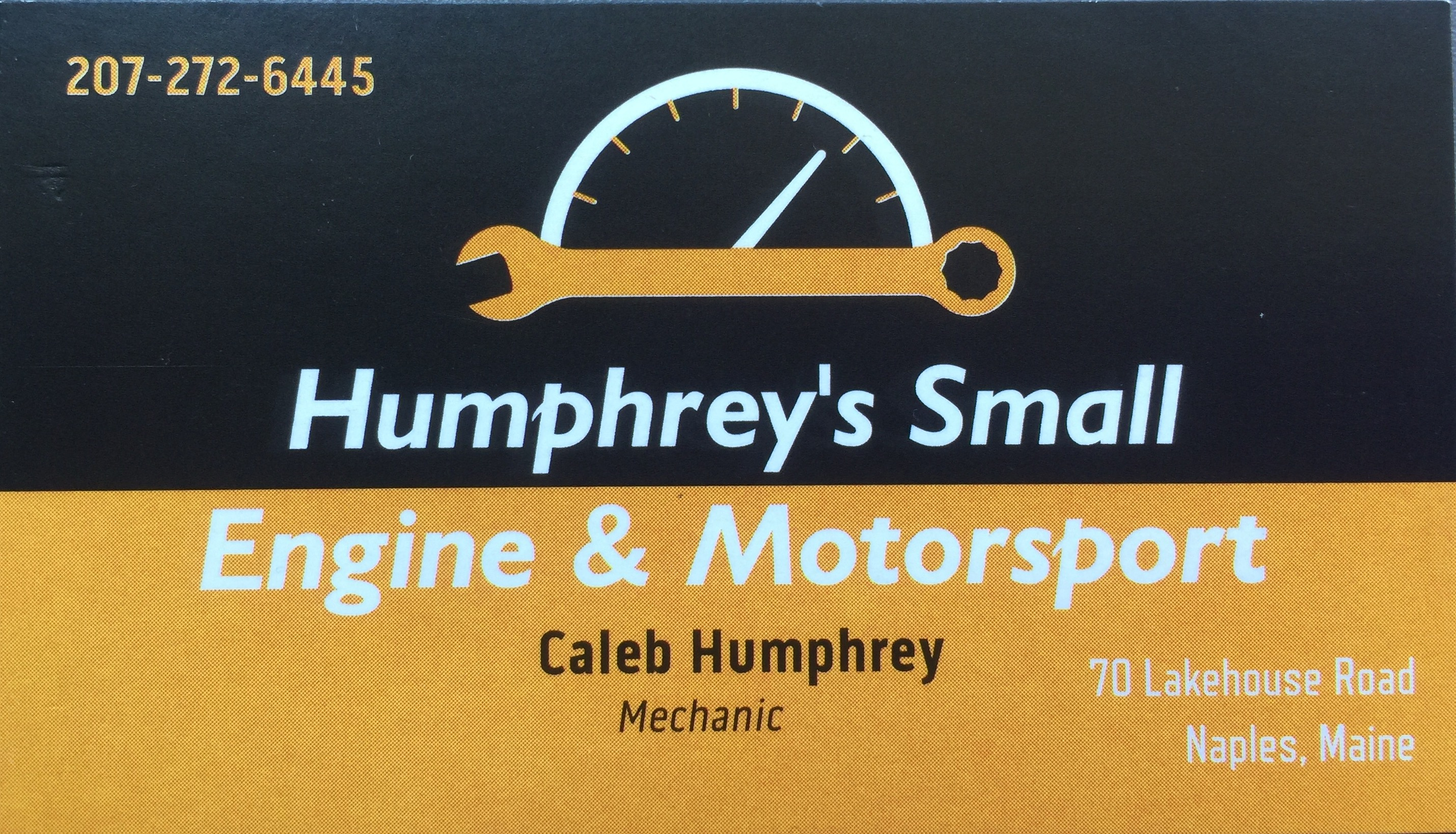Humphrey's Small Engine